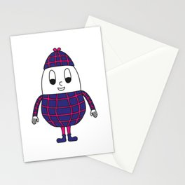 Peanut Egg Stationery Cards