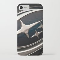 subaru iPhone & iPod Cases featuring Subaru Logo by SShaw Photographic