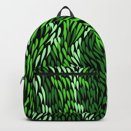Authentic Aboriginal Art - Grass Backpack