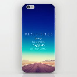 Resilience iPhone Skin