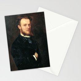Simó Gómez - Portrait of the cabinet-maker Francesc Vidal i Javellí Stationery Cards