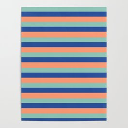 Just Stripes Poster
