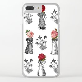 The Dreams of Flowers | The Tables Have Turned Clear iPhone Case