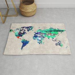 World Map 46 Rug