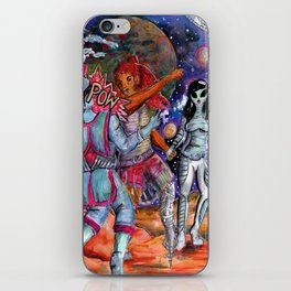 babes fight iPhone Skin