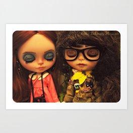 My Delicious Bliss Custom Blythe Art Dolls, Sam & Suzy Art Print
