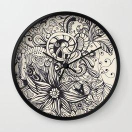 Doodle Wall Clock