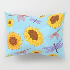 Sunflowers & Dragonflies Pillow Sham