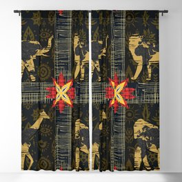 Safari World Animals Blackout Curtain