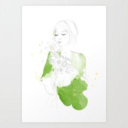 Myssi Art Print