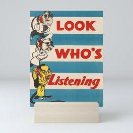 world war ii   seagram   homefront. circa 1940s  poster Mini Art Print