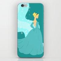 cinderella iPhone & iPod Skins featuring Cinderella by Eva Duplan Illustrations