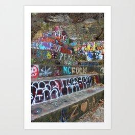 Graffiti in the wild Kunstdrucke