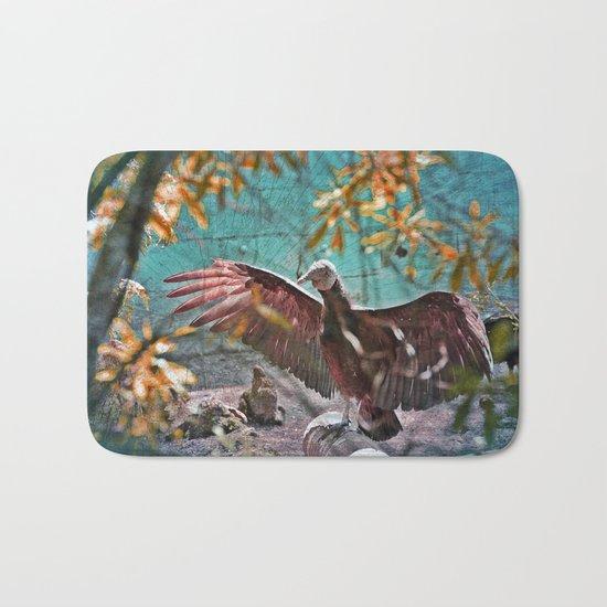 Vulture Rise of the Fire Wizard Bath Mat