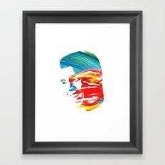 Float like a butterfly, sting like a bee! - Ali Framed Art Print