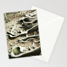 The roots of all goodness lie in the soil of appreciation for goodness Stationery Cards