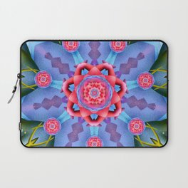 Flower of Sevens Mandala Laptop Sleeve