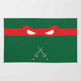 Red Ninja Turtles Raphael Rug