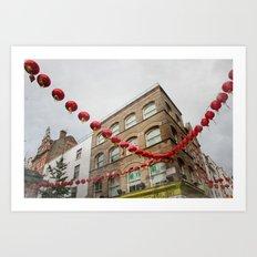 chinatown london 004 Art Print
