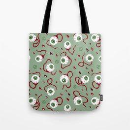 Eyeballs Tote Bag