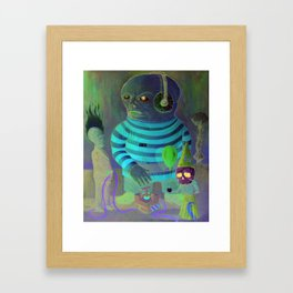 The promised Kingdom welcome party Framed Art Print