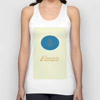 namaste Tank Tops featuring Namaste by My Yoga On