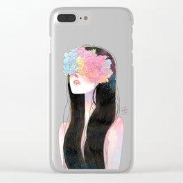 my dear girl Clear iPhone Case