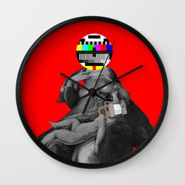 Madonna del la TV Wall Clock