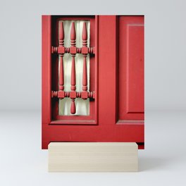 The Customary Red Door, But... Mini Art Print