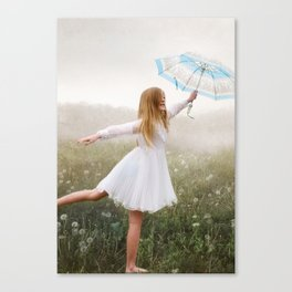 Rainbows and Wishes Canvas Print