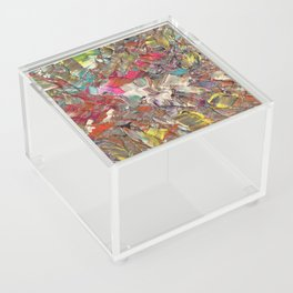Abstract Acrylic Palette Knife painting Acrylic Box