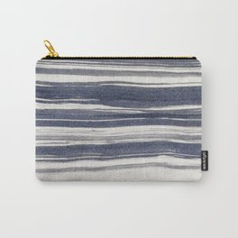 Brush stroke stripes Carry-All Pouch