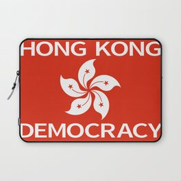 Democracy Hong Kong Flag Laptop Sleeve