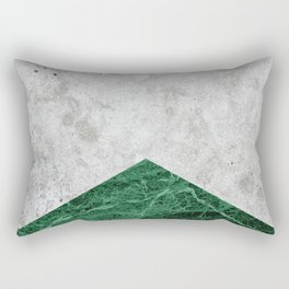 Concrete Arrow Green Granite #412 Rectangular Pillow