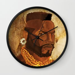 Mr. T Appreciates That You Wear Deodorant. Wall Clock