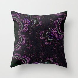 Dancing Jewels Throw Pillow