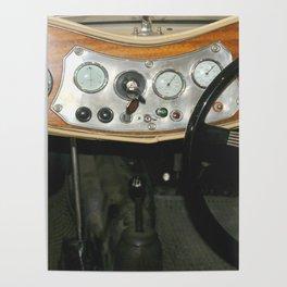"1948 MG ""TC"" Sports Dash Poster"