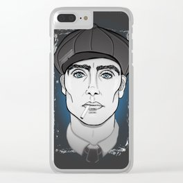 Peaky Blinders, Thomas Shelby, Cillian Murphy Clear iPhone Case