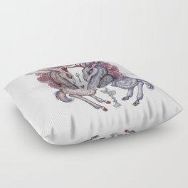 Rare Hearts Floor Pillow