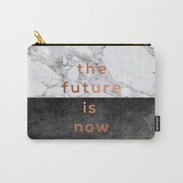The Future Is Now Copper Carry-All Pouch
