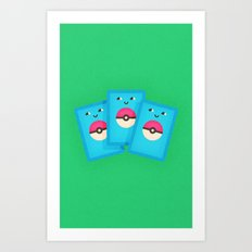 Pokémon Cards Art Print