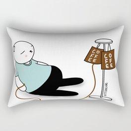 Coffee IV Bitterbeans Rectangular Pillow
