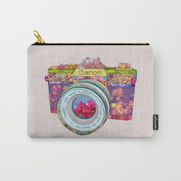 FLORAL CAN0N Carry-All Pouch