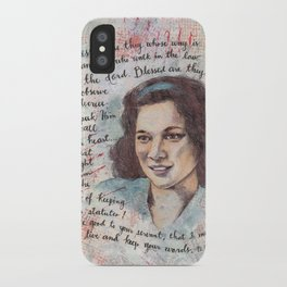 Blessed by Patsy Paterno iPhone Case