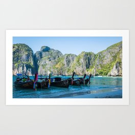 Phi Phi Islands Art Print
