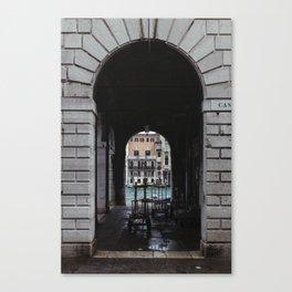 Market Archway Canvas Print