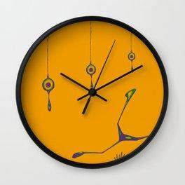 Ostrich Challenge Wall Clock