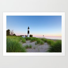Big Sable Point Lighthouse - Ludington Michigan Art Print