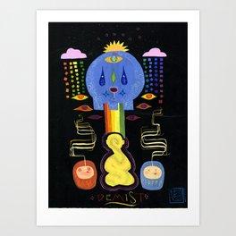 DeMisT Art Print
