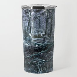 Icy Forest Travel Mug